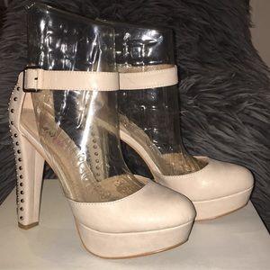 Soft Creme Heels